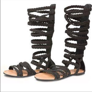 Wide width Gladiator sandals